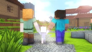 Video Steve Life 1-7  - Minecraft animation MP3, 3GP, MP4, WEBM, AVI, FLV Agustus 2018