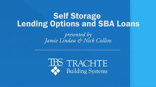 Self Storage Lending Options