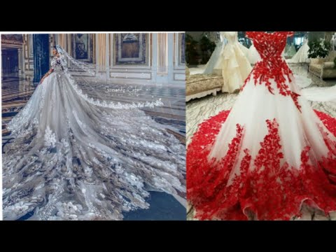MOST Beautiful dresses in the world (prom& weeding dresses)desney princess outfits/expensive dresses