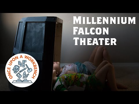 How to Make a Star Wars Millennium Falcon Tablet Theater for