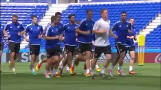 Don't miss the live stream of all training sessions on EURO2016.com