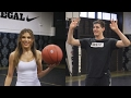 LOL! Thibaut Courtois n Ty Simpkins PLAY BASKETBALL, Someone (Ty) Gets Annihilated
