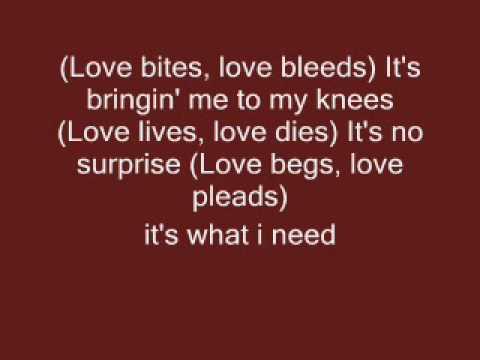love bites lyrics by def leppard