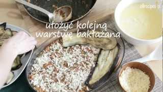 Musaka - zapiekanka z bakłażanem - przepis