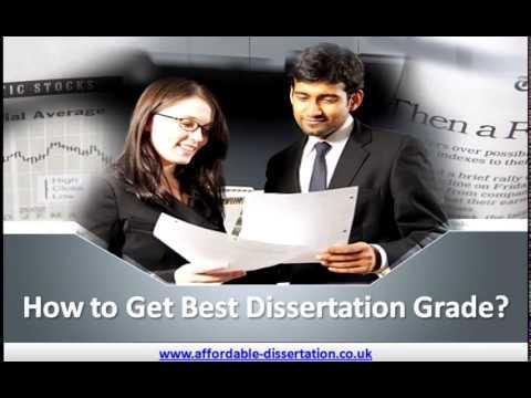 How to Get Best Dissertation Grades