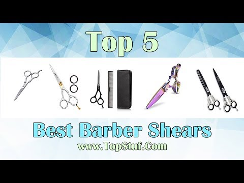 Hair cutting - Top 5 Best Barber Shears - Relief for your beard
