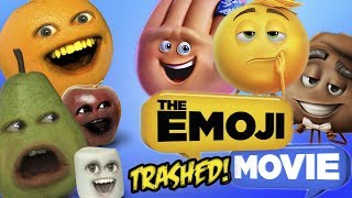 Video Annoying Orange - Emoji Movie TRAILER TRASHED!! MP3, 3GP, MP4, WEBM, AVI, FLV Mei 2017
