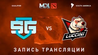 SG-eSports vs Luccini, MDL SA, game 2 [Mila]