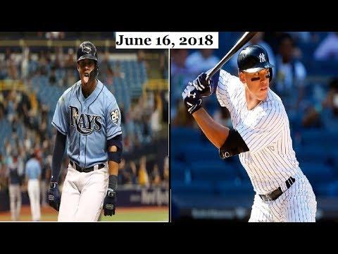 Tampa Bay Rays vs New York Yankees Highlights    June 16, 2018