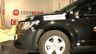 Bumper test delantero Dodge Journey en Cesvimap