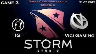 VG vs IG, game 3
