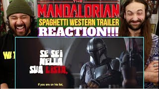 THE MANDALORIAN | Spaghetti Western TRAILER - REACTION!!! by The Reel Rejects