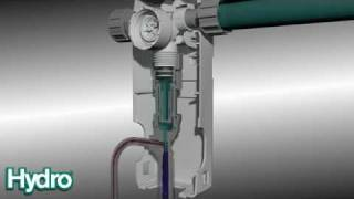 Hydro Systems - Accupro Chemical Dispenser 3D Animation