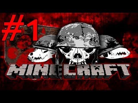 Война в Майнкрафт - Поиск Бандитов - Часть 1