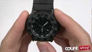Luminox 3001BO Navy SEAL- review by DiscountShop - YouTube