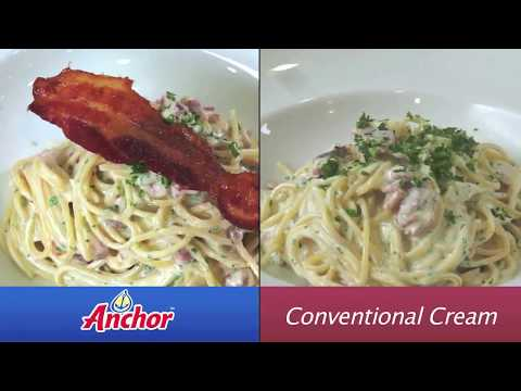 Anchor Cooking Cream - Consistent Perfect Pasta Every Time