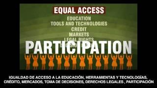 Cerrar la brecha entre hombres y mujeres en la agricultura