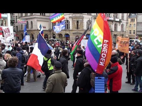 Halle 2015: 2. EnDgAmE Demo in Halle (21.02.2015)