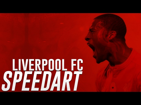 SPEED ART - LIVERPOOL FC MATCH DAY DESIGN!!