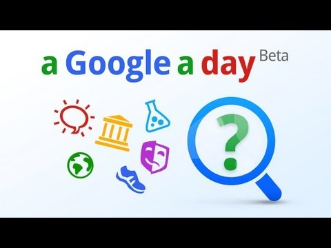 Image of New A Google a Day on Google+ Promo Video