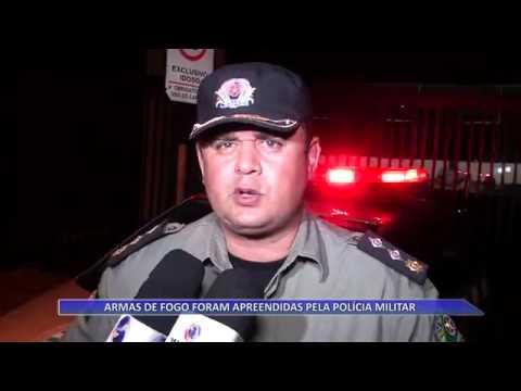 JATAÍ | Armas de fogo são apreendidas pela PM