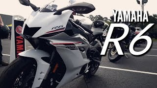 6. 2018 Yamaha R6 | Demo Ride ��