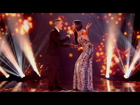 X Factor UK: Nicole Scherzinger Has Technical Issues During Jahmene Douglas Duet
