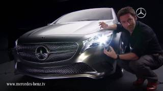 Mercedes-Benz A-Class Concept In Detail