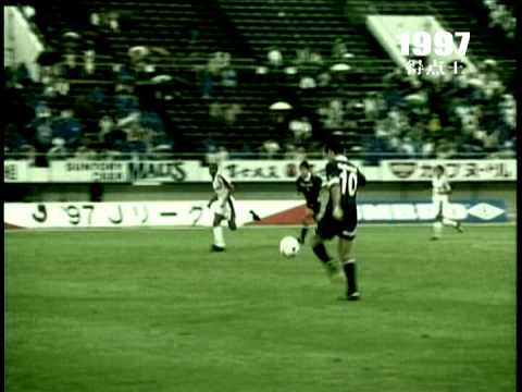 J.League 1997 Season Top Scorer MBOMA(Gamba Osaka) Movie