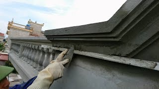 Video Amazing Construction With sand and cement - Creative Sand And Cement Square Corners on Wall MP3, 3GP, MP4, WEBM, AVI, FLV Agustus 2018