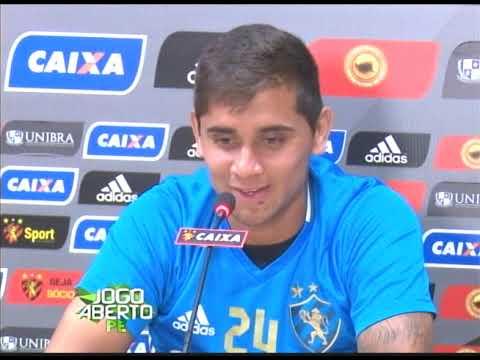 [JOGO ABERTO PE] Sport: Everton Felipe está fora do Brasileirão 2017