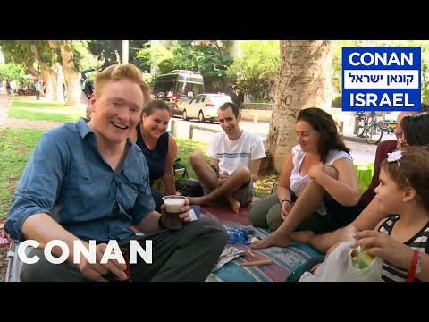 Conan Visits Israel