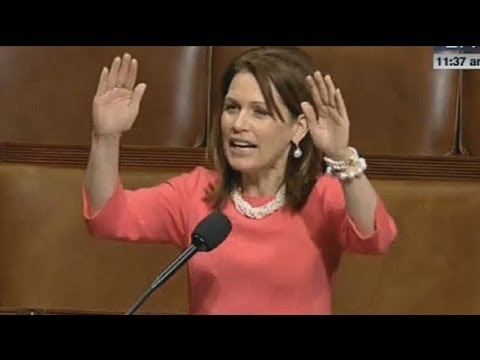 Michele Bachmann Said God Would do WHAT?! Video
