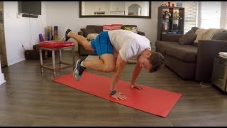 VIDEO: Four At-Home Abs Exercises with Chair