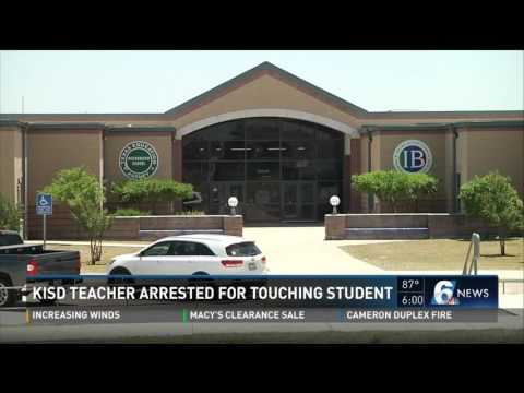 KISD teacher arrested for touching student