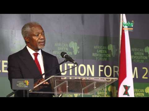 Kofi Annan Speech AGRA 2012 part 1