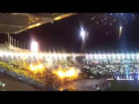 Video - Recibimiento Rosario Central - Boca Final Copa Argentina 2015 HD - Los Guerreros - Rosario Central - Argentina