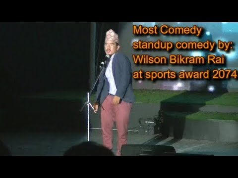 (Wilson bikram(तक्मे बुडा) Standup comedy | most comedy.. 12 min)