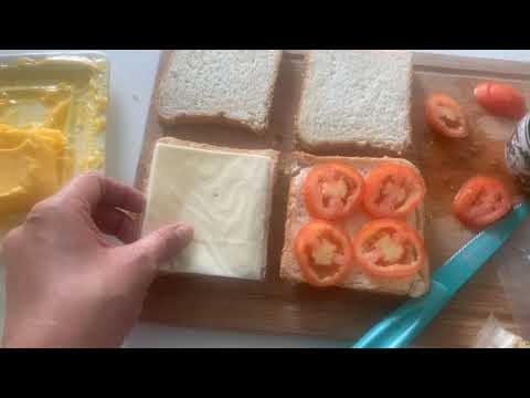 My Cooking Experiments- Grilled Egg Sandwich