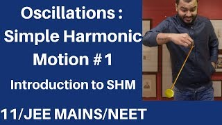 Class 11 chap 14    Oscillations 01    SHM 01 : Introduction and Condition for SHM JEE MAINS/NEET
