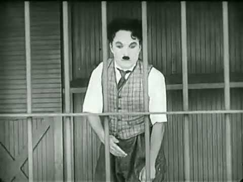 Charlie Chaplin &#8211; The Lion&#8217;s Cage