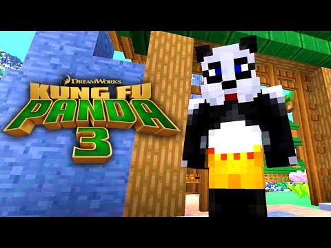 Kung Fu Panda 3 (Minecraft Trailer)