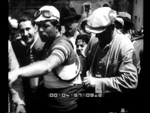 La tappa Roma-Firenze del Giro d'Italia - Istituto Luce