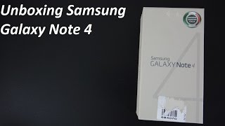 Samsung Galaxy Note 4 unboxing by MobileExperience