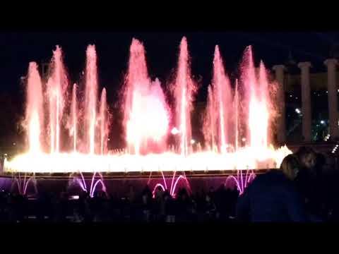 A Fonte Mágica em Barcelona (Magic Fountain) - 2012