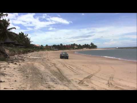 Praia de Barreta no Rio Grande do Norte