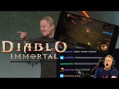 Diablo Immortal - NEW MOBILE GAME!?