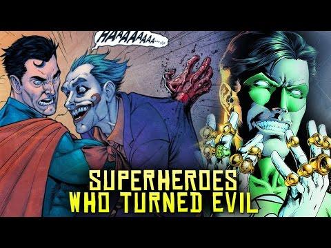 10 Marvel & DC Superheroes Who Turned EVIL! (видео)