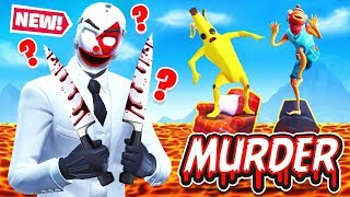VOLCANO Murder MYSTERY *NEW* Game Mode in Fortnite Battle Royale