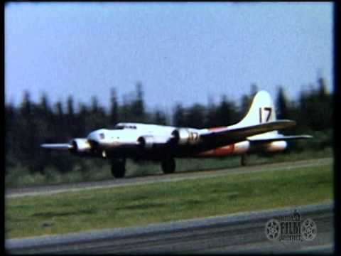 Clips of various aircraft taking...